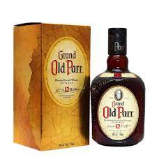 WHISKY OLD PARR 12ANOS                                 UNIDADE 1X750ML
